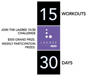 Lagree 15 30 Day Challenge Logo